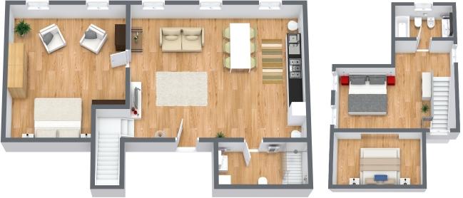 Planimetrics Apartment N.49