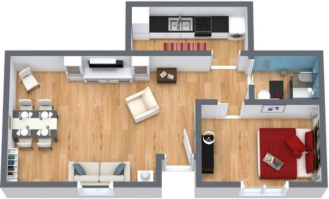 Planimetrics Apartment N.50