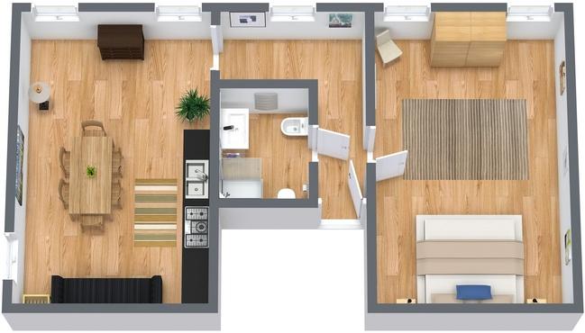 Planimetrics Apartment N.52