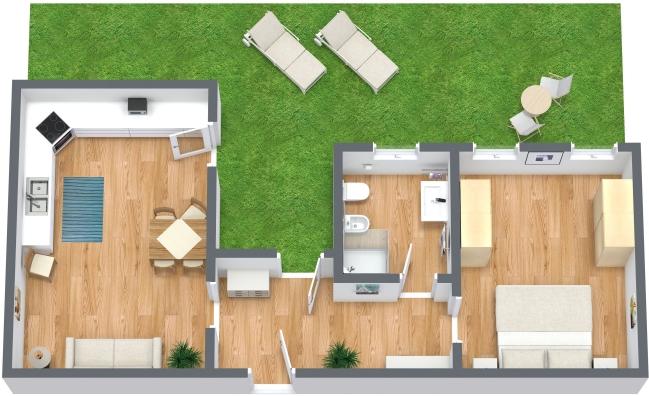 Planimetrics Apartment N.6