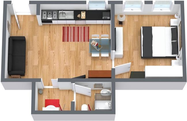Planimetrics Apartment N.66