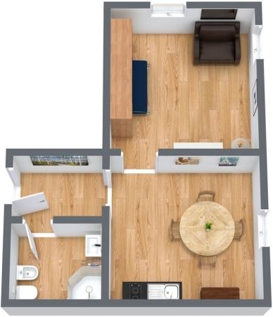 Planimetrics Apartment N.69