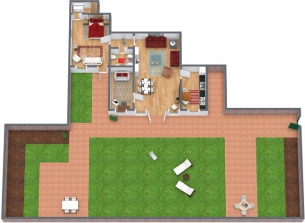 Planimetrics Apartment N.74