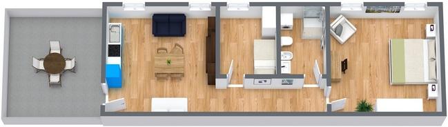 Planimetrics Apartment N.8