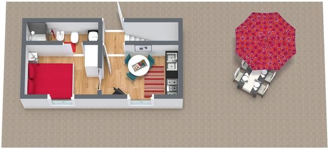 Planimetrics Apartment N.89