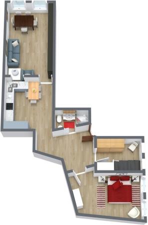 Planimetrics Apartment N.9