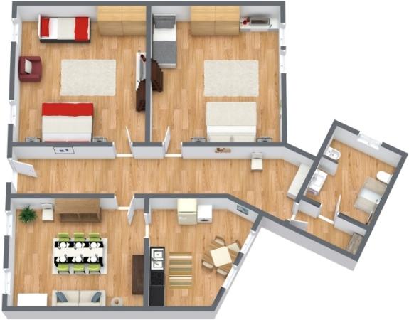Planimetrics Apartment N.124