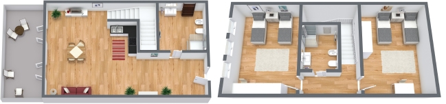 Planimetrics Apartment N.93