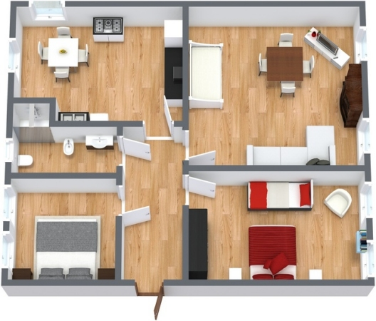 Planimetrics Apartment N.97